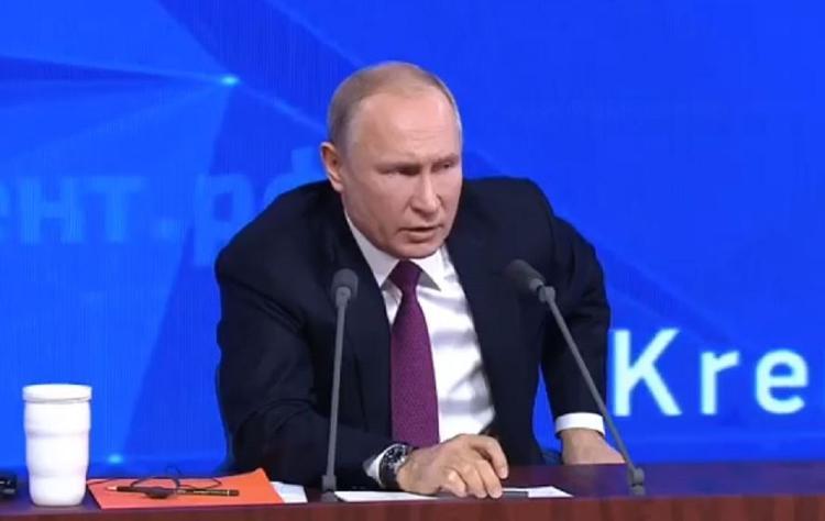 """Путин прокомментировал взрывы на заводе """"Кристалл"""" в Дзержинске"""