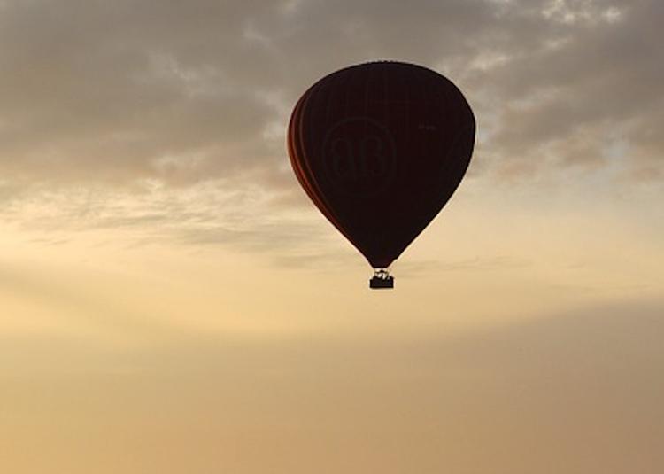 В Германии потерпел крушение воздушный шар с 10 пассажирами