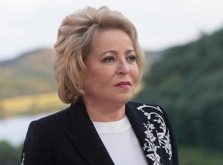 Матвиенко: Россия ни с кем не намерена обсуждать вопрос статуса Крыма