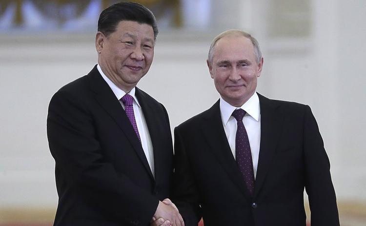 Путин заявил о высоком уровне стратегического партнёрства с Китаем