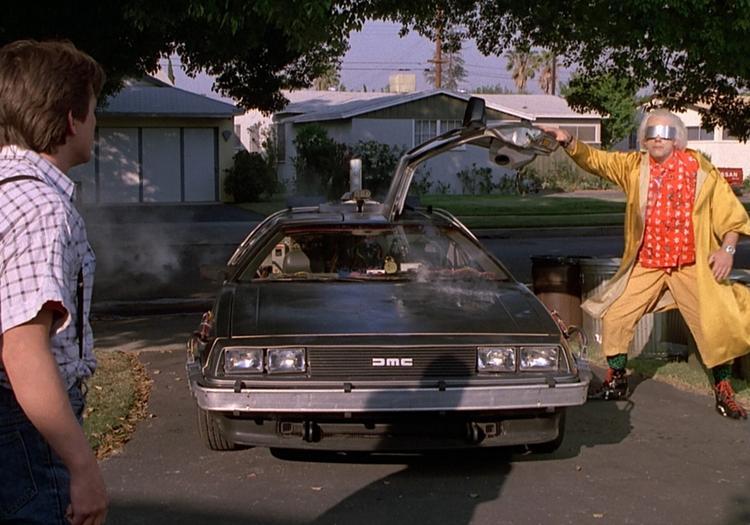 DeLorean на базе ВАЗ-2109 всколыхнул Сеть