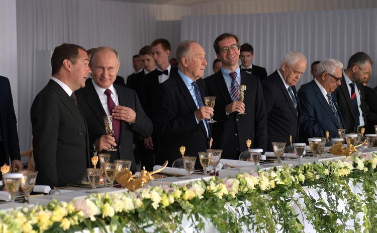 Маргарита Симоньян назвала темы, которые  больше всего обсуждались сегодня за разными столиками на приеме в Кремле