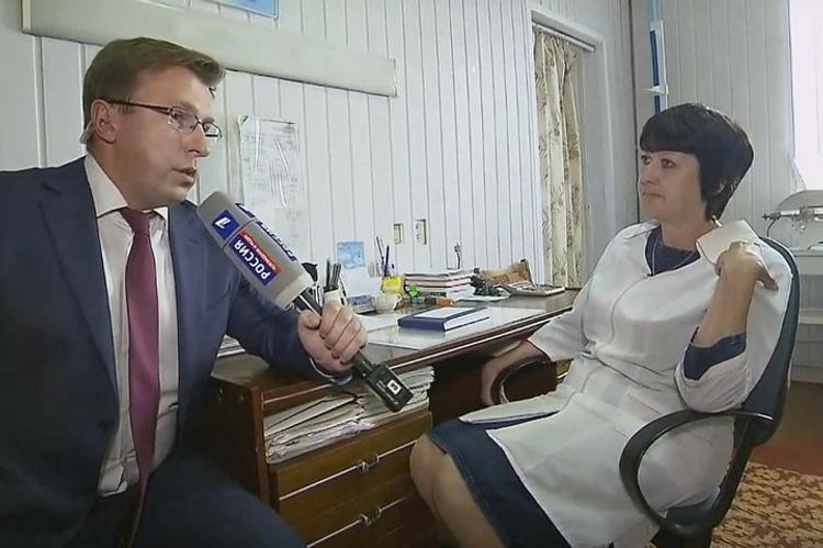 На прямой линии с президентом показали ФАП из Челябинской области