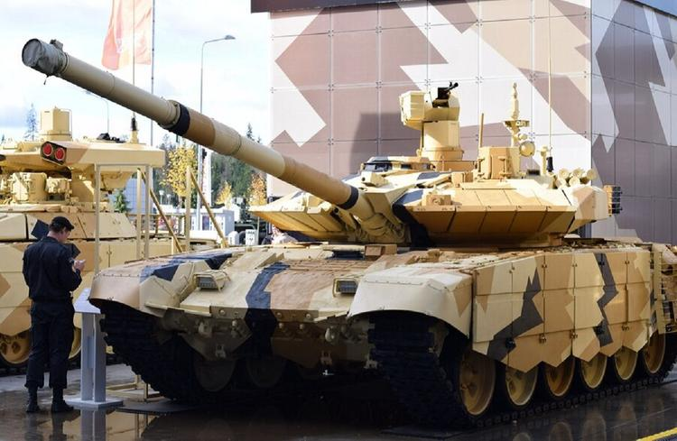 Российский танк напечатали на 3D-принтере