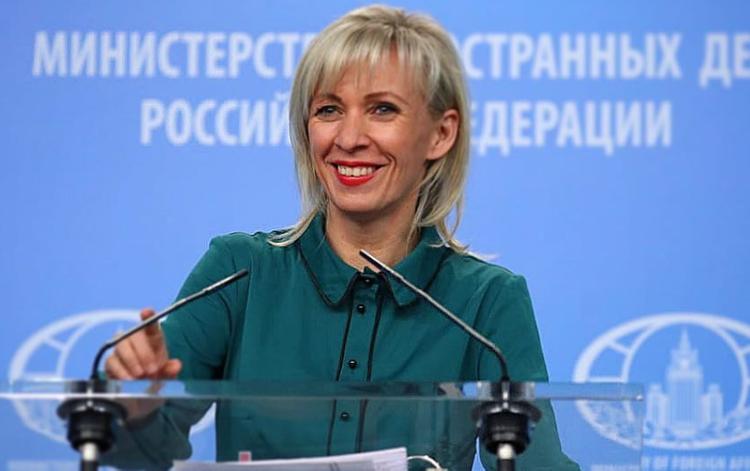 Захарова посмеялась над разногласиями между Зеленским и Климкиным