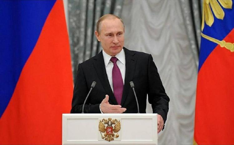В Сети выставили на продажу очередную визитку Владимира Путина