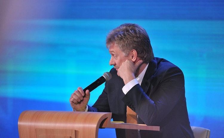 """Песков о выходке грузинского телеведущего: """"это большой позор"""""""