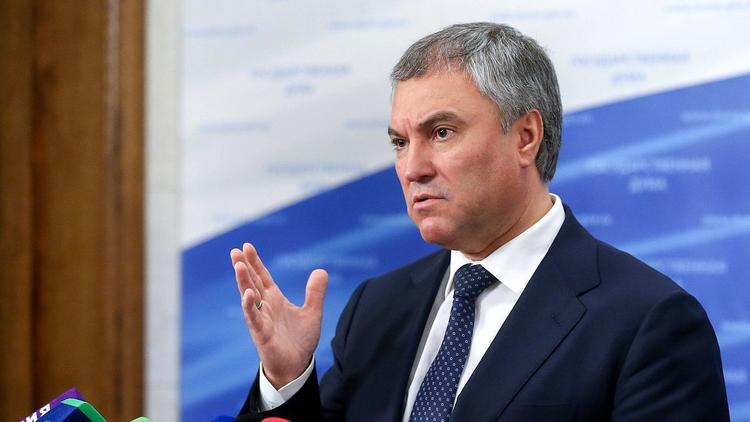Володин решил поспорить с Путиным о санкциях против Грузии