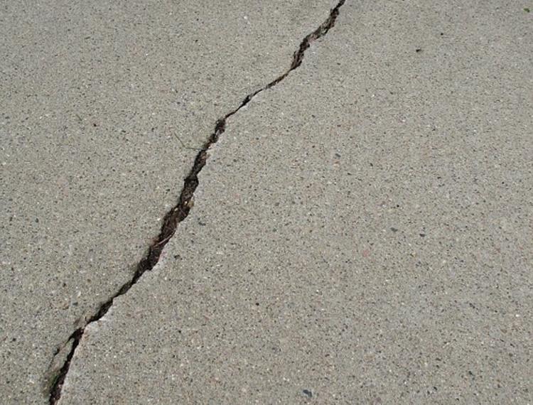 Землетрясение в Калифорнии создало разлом, который можно увидеть из космоса