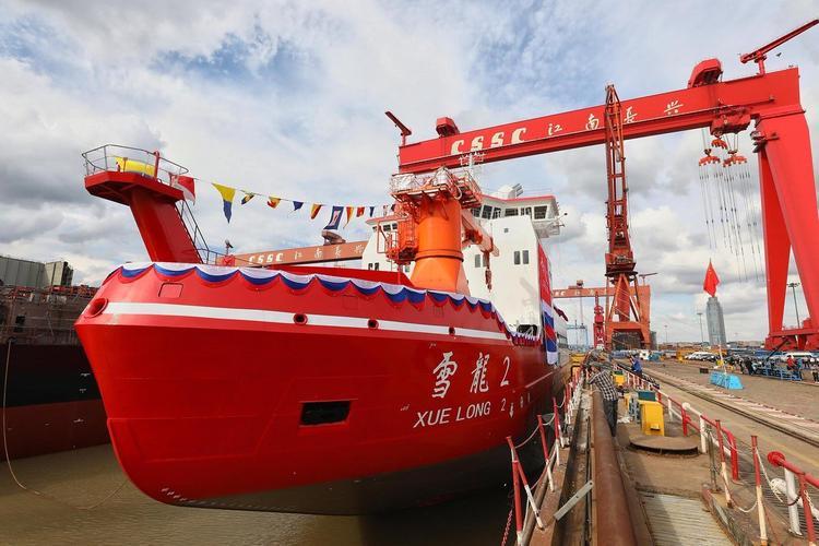 Китай покажет России вАрктике свой большой Xue long