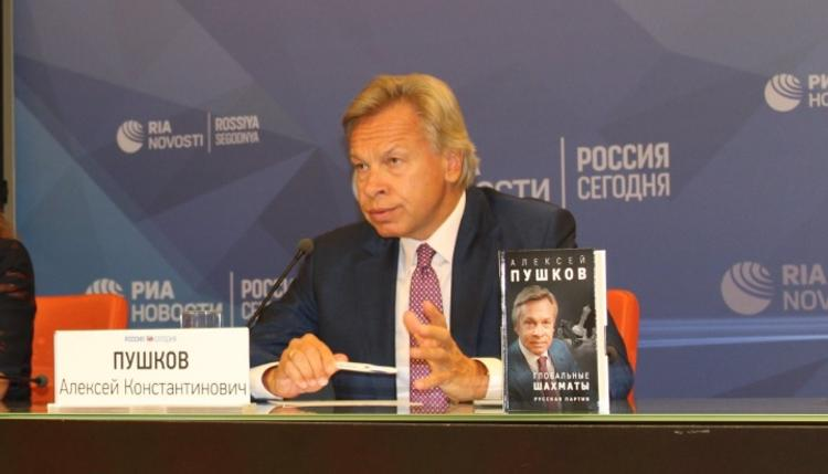 Пушков объяснил, зачем Украине российский танкер