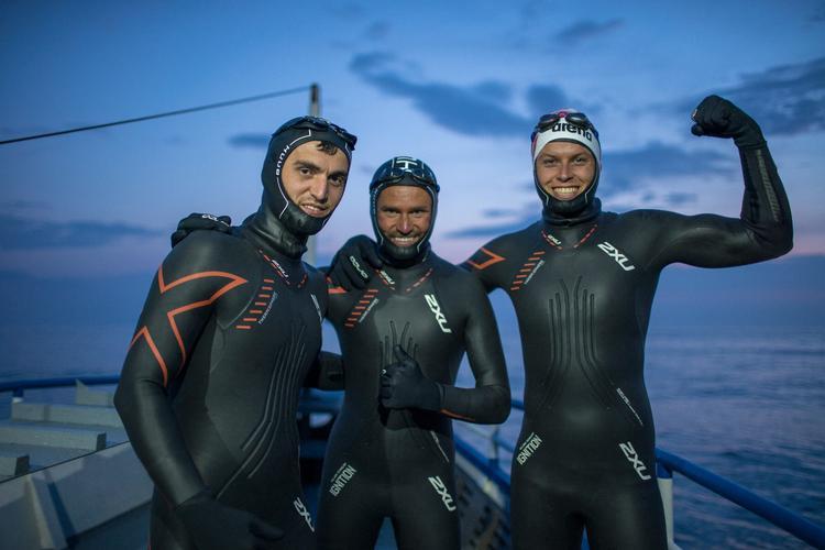 Возобновлен марафонский заплыв через Байкал