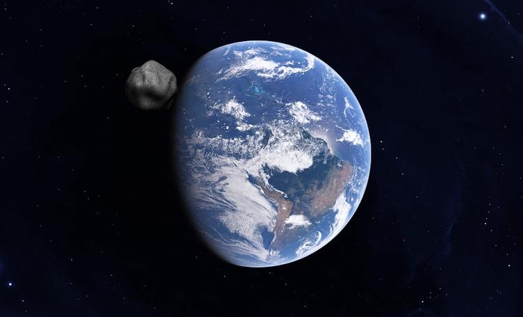 Российский ученый оценил угрозу от приближающегося к Земле крупного астероида