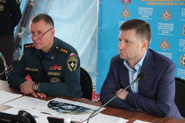 Хабаровский край накрыла третья волна паводка