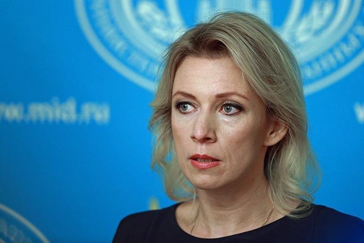 """Захарова оценила """"современный критерий"""" отбора стран на годовщину войны"""