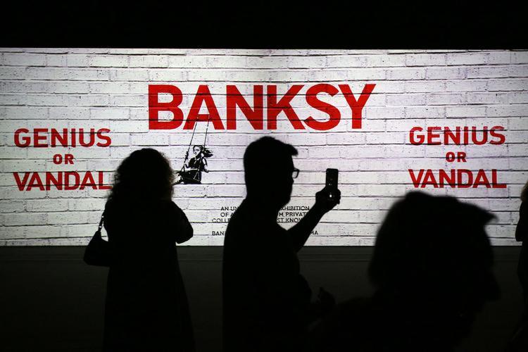 Работу Бэнкси похитили в Париже