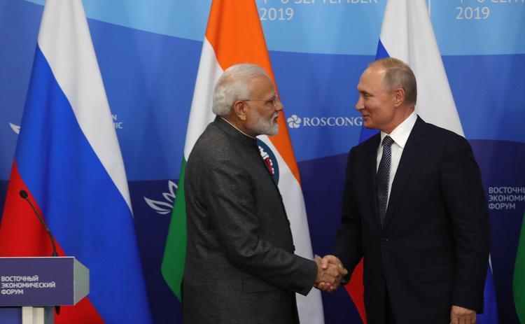Путин и Моди приняли совместное заявление