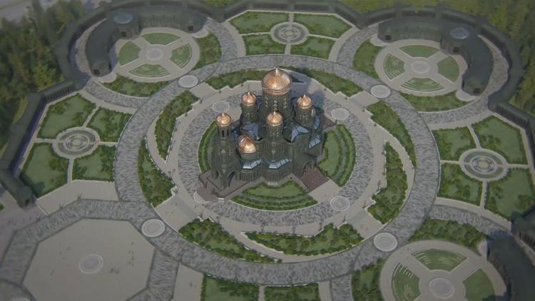 Главный храм Вооруженных Сил РФ будет открыт 9 мая 2020 года