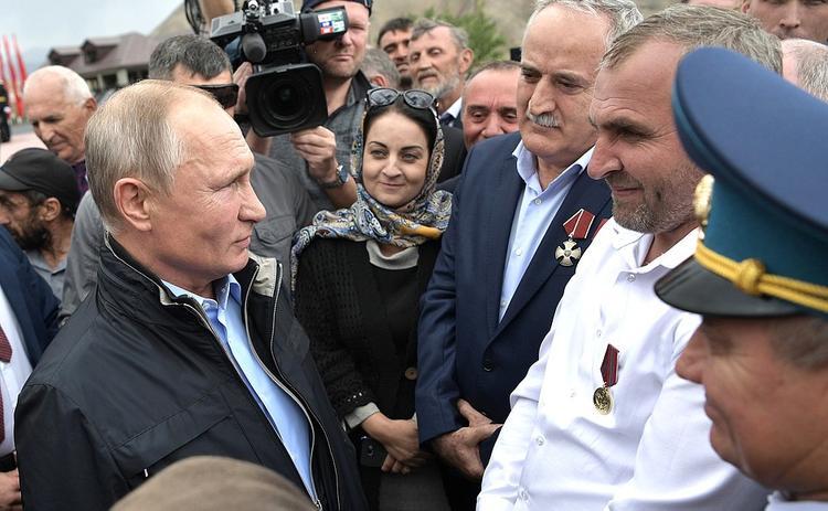 Путин: Армии  России нужны военнослужащие  – выходцы  с Кавказа
