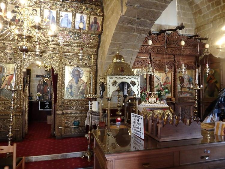 Церковь Никосии: уникальный образ Богородицы