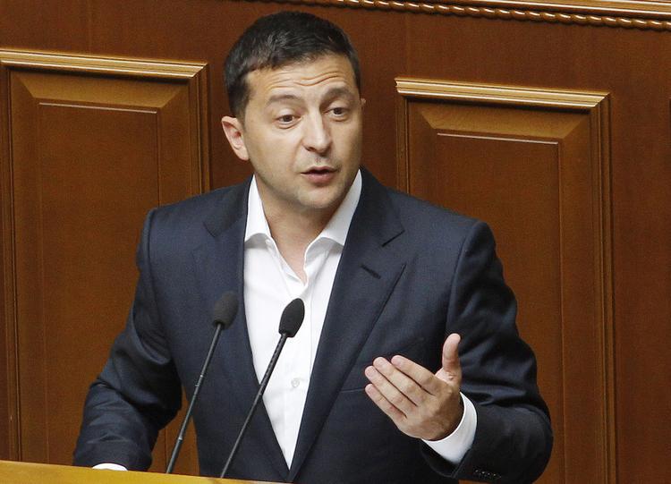 Зеленский объявил выговор двум заместителям главы офиса президента Украины