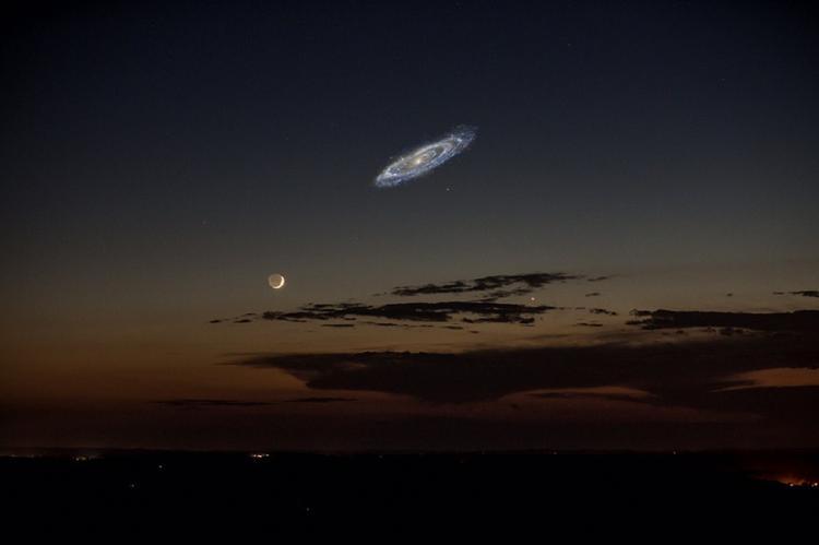 Галактика Андромеды ближе, чем кажется: скопление звезд, которое поглотит Солнечную Систему