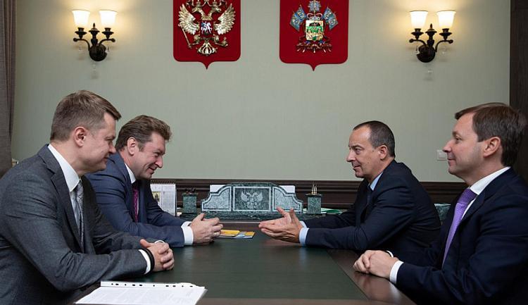Спикер ЗСК провел встречу с аграриями Крымского района