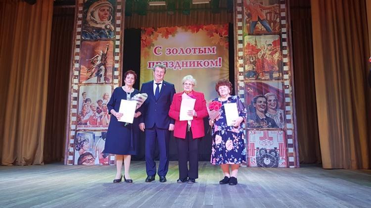 Почетных копейчан поздравил Анатолий Литовченко