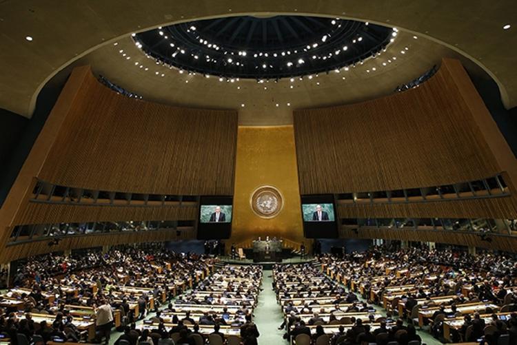 В ООН отреагировали на предложение России о переносе организации из США