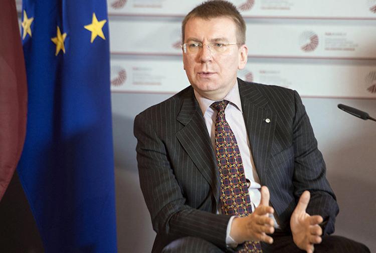 Глава МИД Латвии откроет консульство Латвии в Запорожье