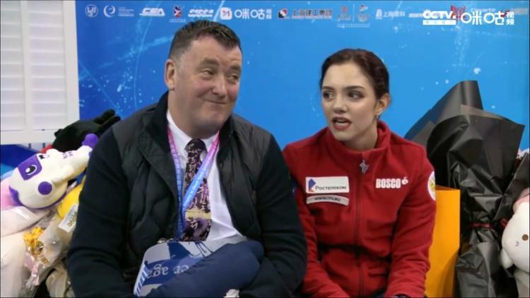 Евгения Медведева стала победительницей международного турнира в Китае
