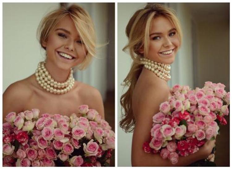 В сети обсуждают фото Стефании Маликовой, снявшейся прикрытой розами
