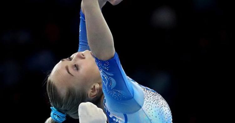 Женская сборная России по спортивной гимнастике завоевала серебро чемпионата мира