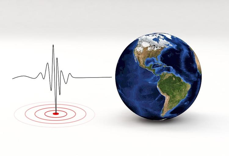 Землетрясение зафиксировано в Китае