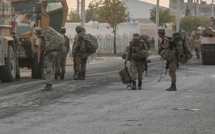 Минобороны Турции: 459 боевиков были ликвидированы при операции в Сирии