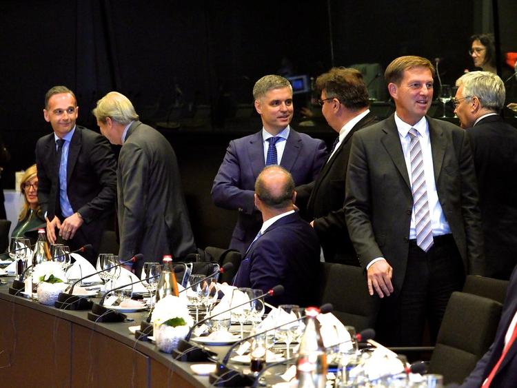 Глава МИД Украины Вадим Пристайко   анонсировал альтернативу «формуле Штайнмайера»