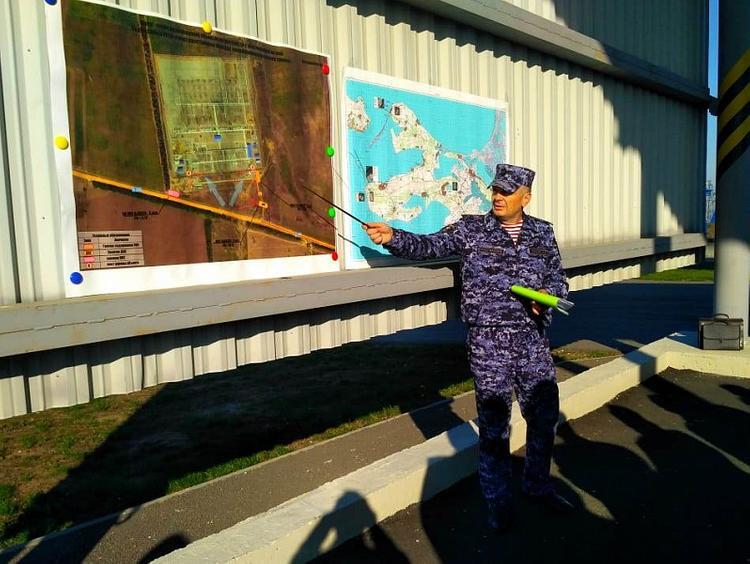 Уровень защищенности объекта проверили на подстанции «Тамань»