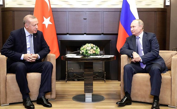 Путин: Россия и Турция вышли на судьбоносные решения по ситуации на сирийско-турецкой границе