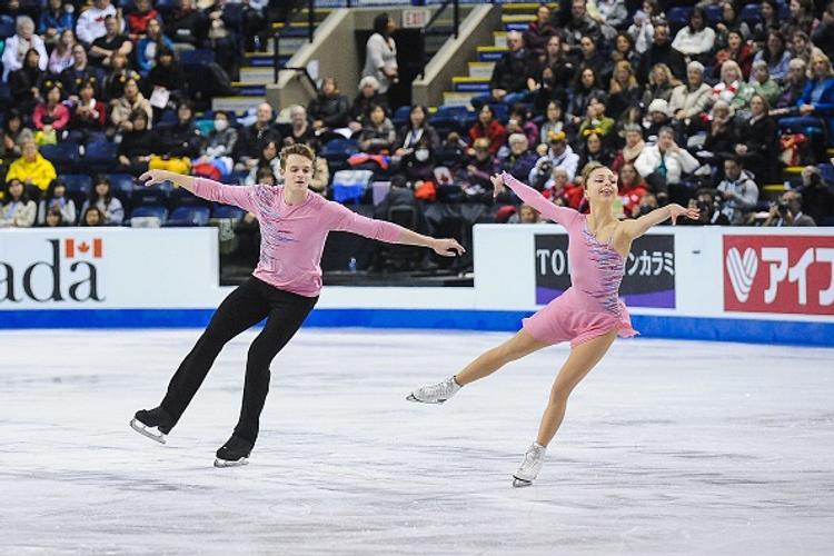 Российские фигуристы оказались лучшими на турнире в Канаде