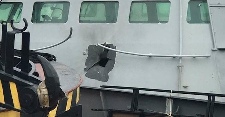 Россия передаст Украине катера, задержанные в Керченском проливе, после того, как их починят
