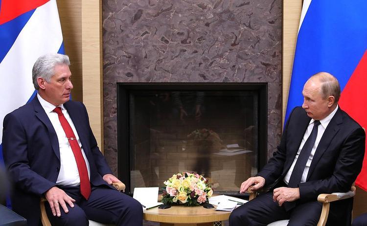 Президент Кубы приедет  Москву на празднование 75-летия Победы