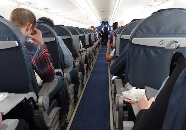 В аэропорту Домодедово задержан мужчина, устроивший дебош на борту самолета