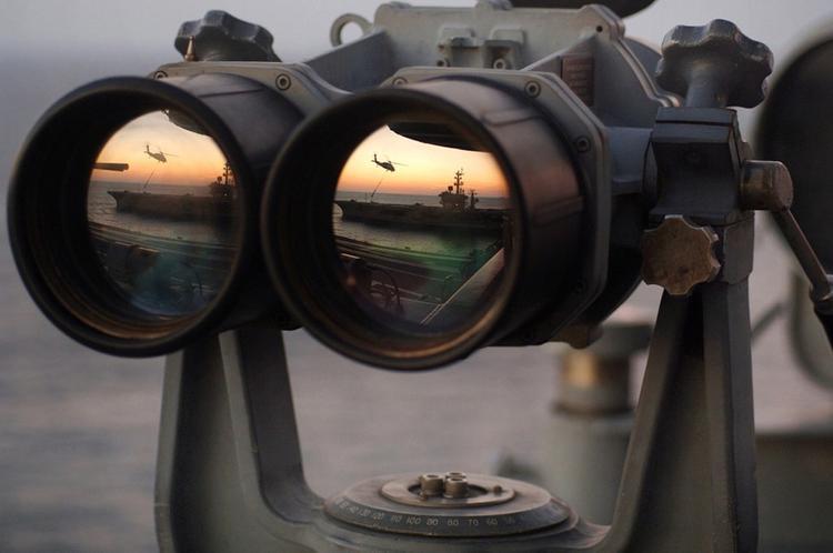 ВМФ и ВКС РФ провели совместные учения в акватории Средиземного моря