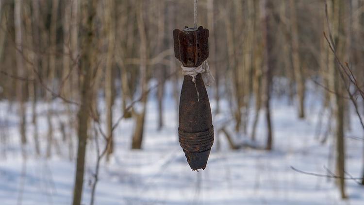 В Новой Москве найден снаряд времен ВОВ