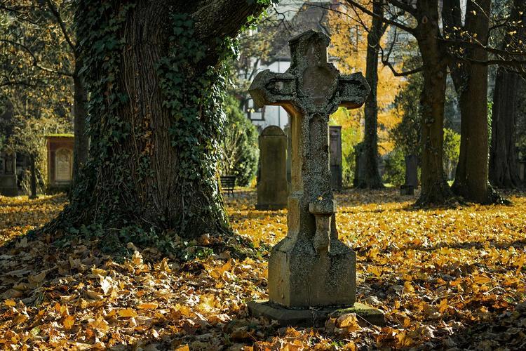 Дочь покойницы умерла на кладбище