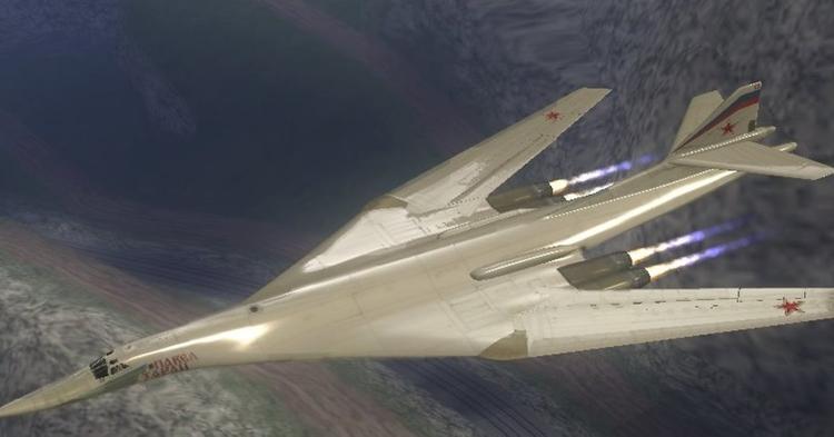 Ищи свищи: Ту-160 на форсаже ушел от двух F-35