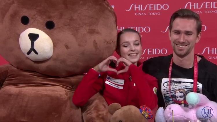 Анна Щербакова на Гран-при в Китае  получила 226 баллов и стала победительницей турнира