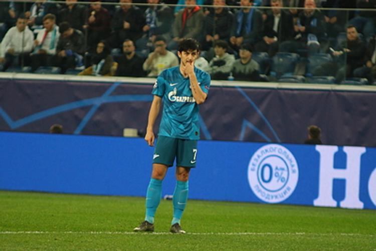 «Арсенал» уступил «Зениту» 0:1