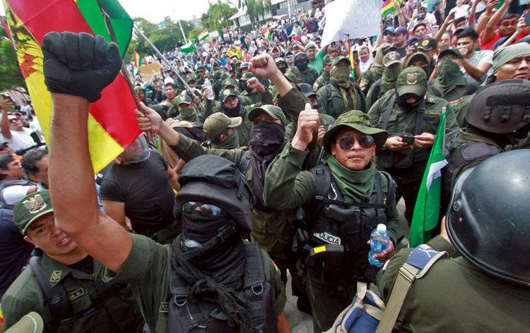 Банальный цветной переворот, вроде украинского