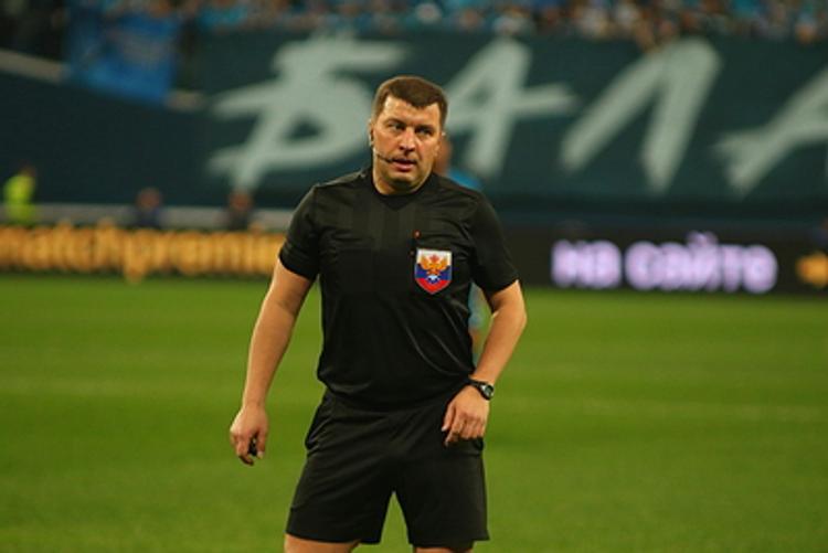 Михаил Вилков отстранен от судейства на матчах РПЛ